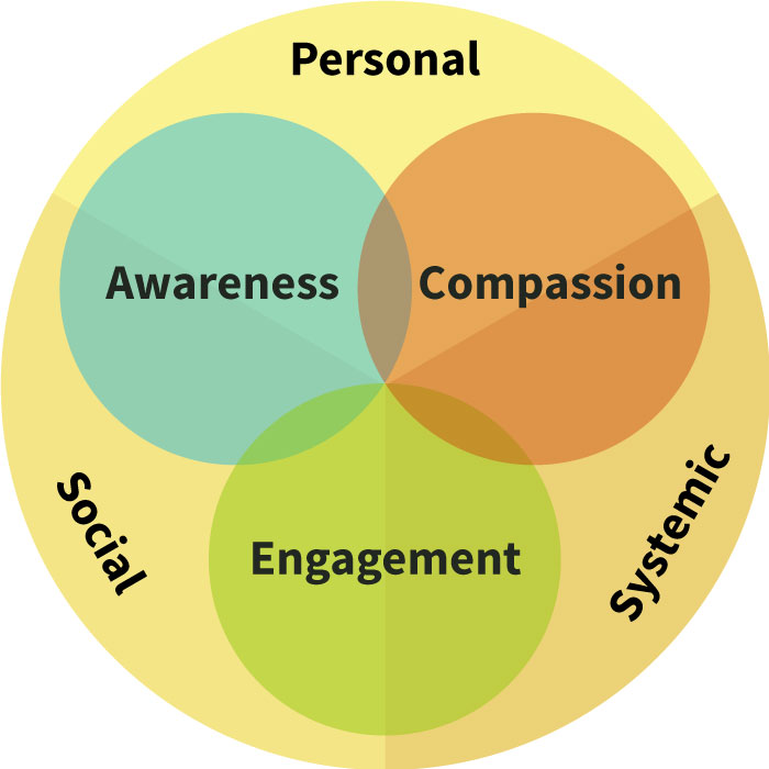 Diagram of See concepts - Personal, Social, Systemic